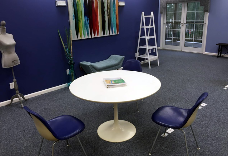HERMAN Miller Chair and Table